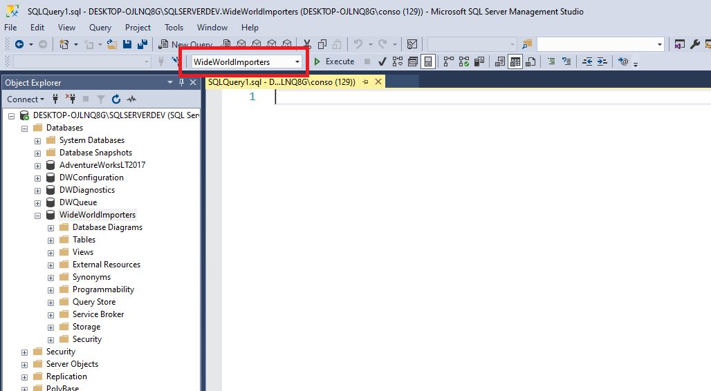 Query design in ssms Step 2